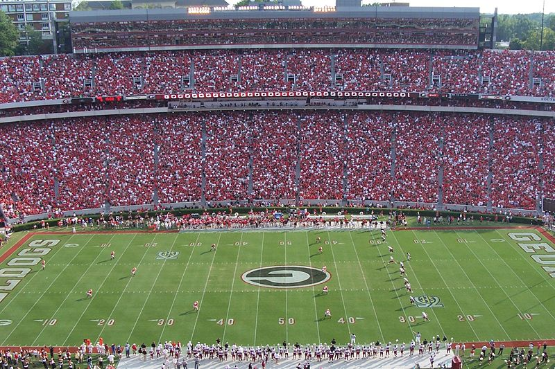 Georgia Bulldogs Football Stadium