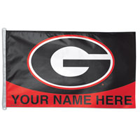 Georgia Bulldogs Custom Flags