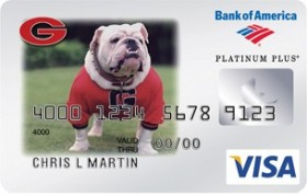 Georgia Bulldogs Credit Card