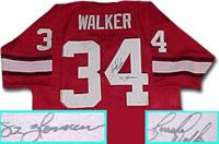 Herschel Walker Autographed Jersey
